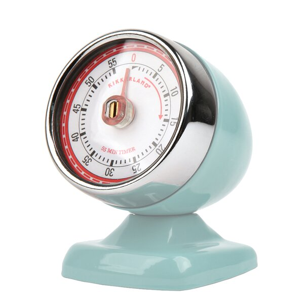 Vintage Streamline Kitchen Timer by Kikkerland