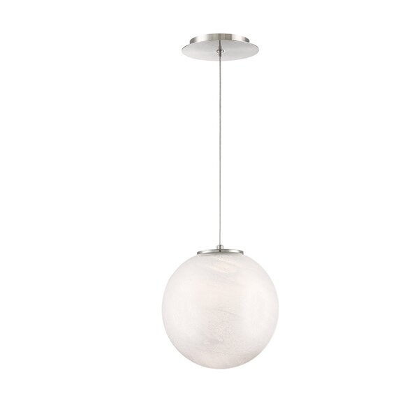 Cosmic Crystal 1-Light LED Globe Chandelier by Modern Forms