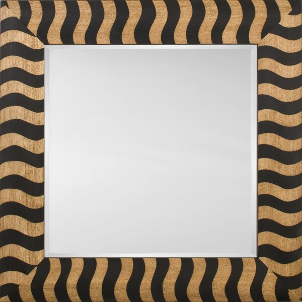 Mirror Style 81146 - Black Wood Stripe by Mirror Image Home