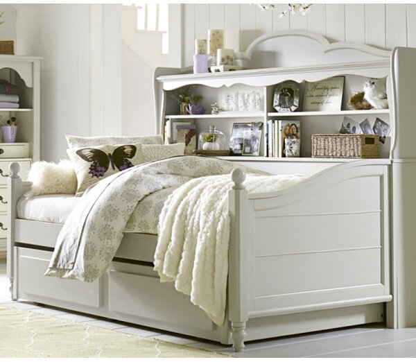 Inspirations by Wendy Bellissimo Twin Bed with Shelves by Wendy Bellissimo by LC Kids