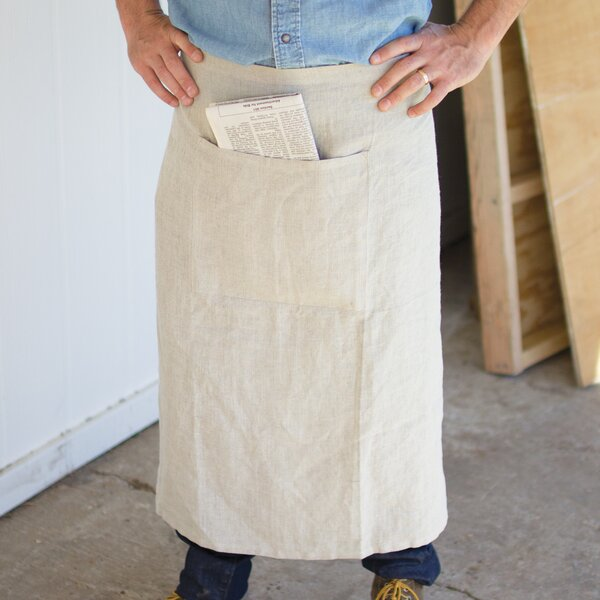 Linen Apron by Gracie Oaks