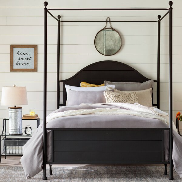 Eglantier Canopy Bed by Laurel Foundry Modern Farmhouse