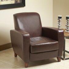 Modavi Top Grain Leather Club Chair by Lind Furniture