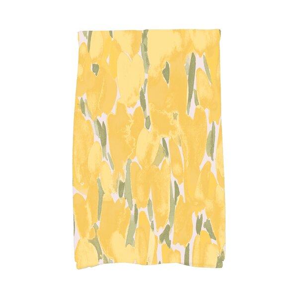 August Grove Holte Floral Hand Towel Wayfair