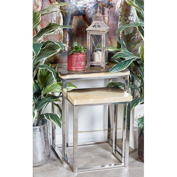 Wardingham Contemporary 2 Piece Nesting Tables by Brayden Studio