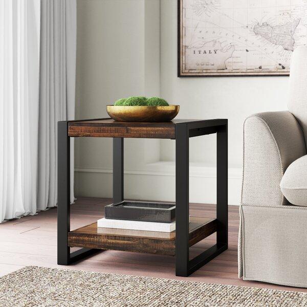 Telfair Sled End Table By Greyleigh