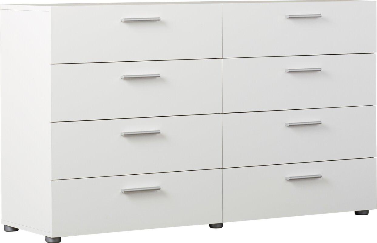 Hatboro 8 Drawer Double Dresser