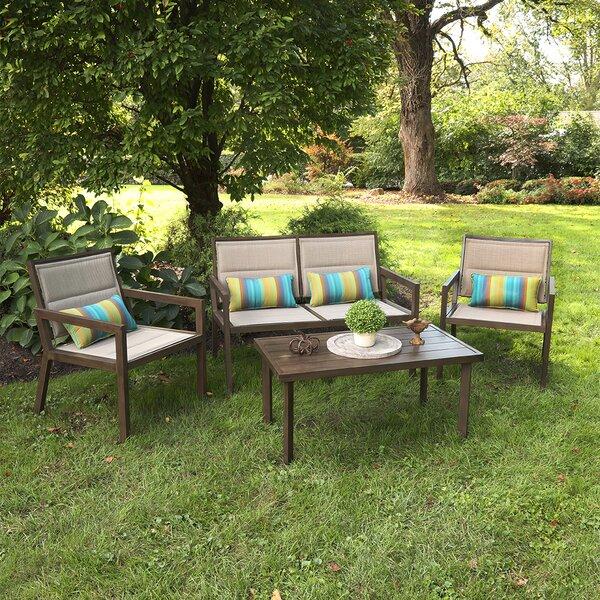 Arceneaux 4 Piece Sofa Seating Group by Gracie Oaks