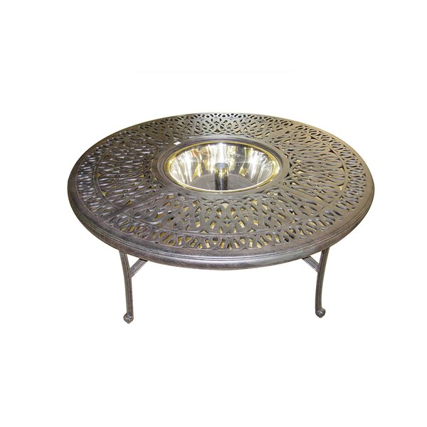 Kristy Coffee Table with Ice Bucket by Darby Home Co