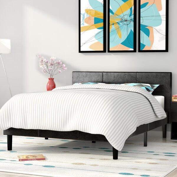 Nancy Upholstered Platform Bed by Zipcode Design