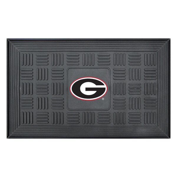 NCAA University of Georgia Medallion Door Mat by FANMATS