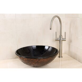 Looking for Fauceture Glass Circular Vessel Bathroom Sink By Kingston Brass