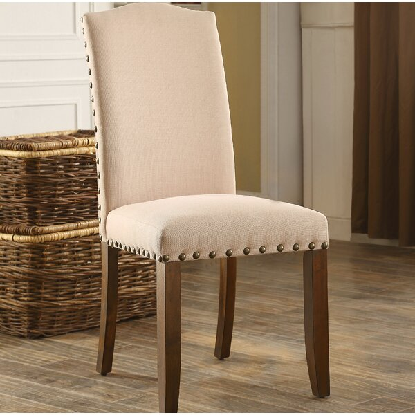Whipton Upholstered Dining Chair (Set of 2) by Loon Peak