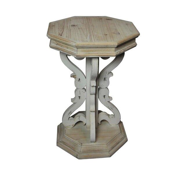 Bellagio End Table by White x White