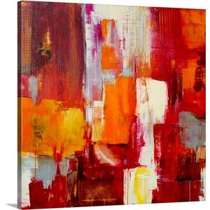 'Queen of Arts' Painting Print on Wrapped Canvas by Mercury Row