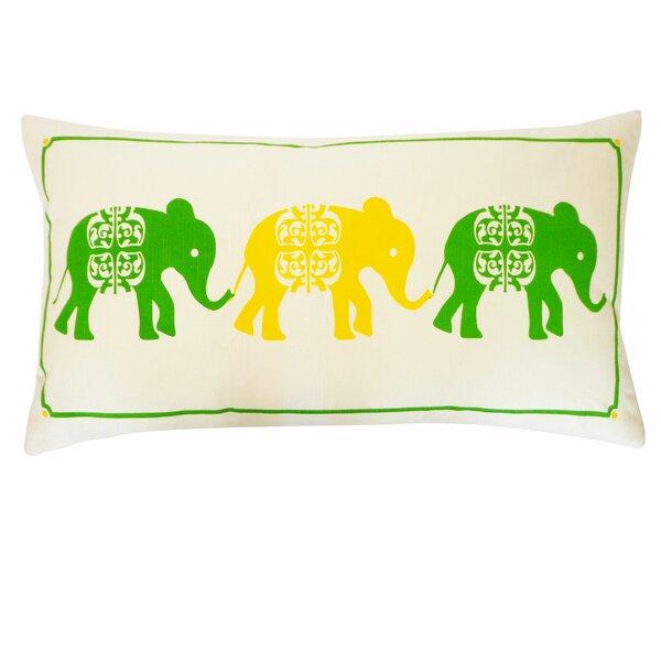 Pi Cotton Lumbar Pillow by Jiti