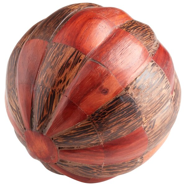 Harper Decorative Ball Sculpture by Cyan Design