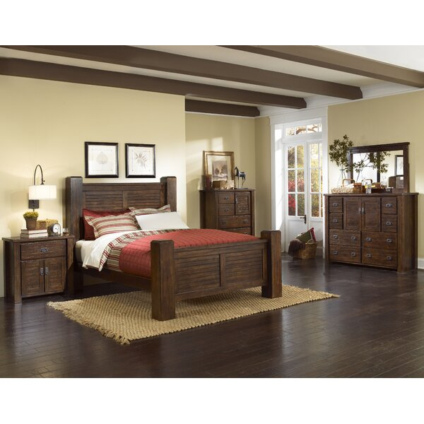 Bison Ridge Panel Configurable Bedroom Set by Loon Peak