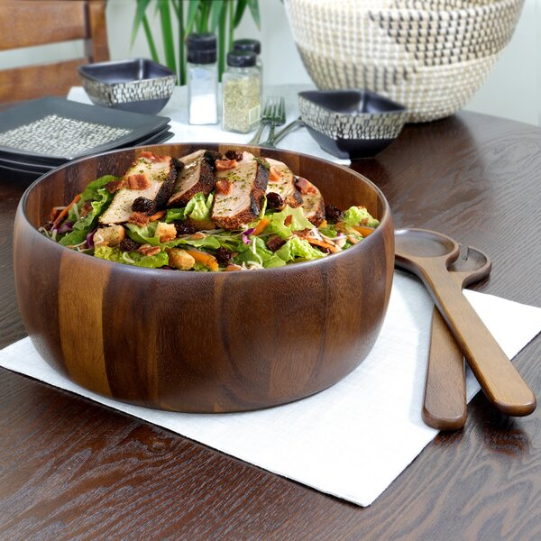 3 Piece Salad Bowl by Gibson Elite