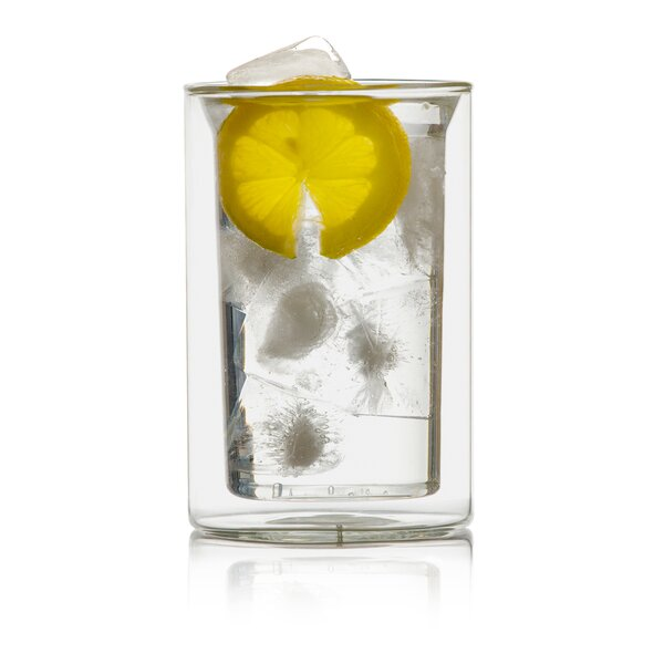 Bauhauss 9 oz. Double Wall Glass (Set of 4) by Highwave Inc.