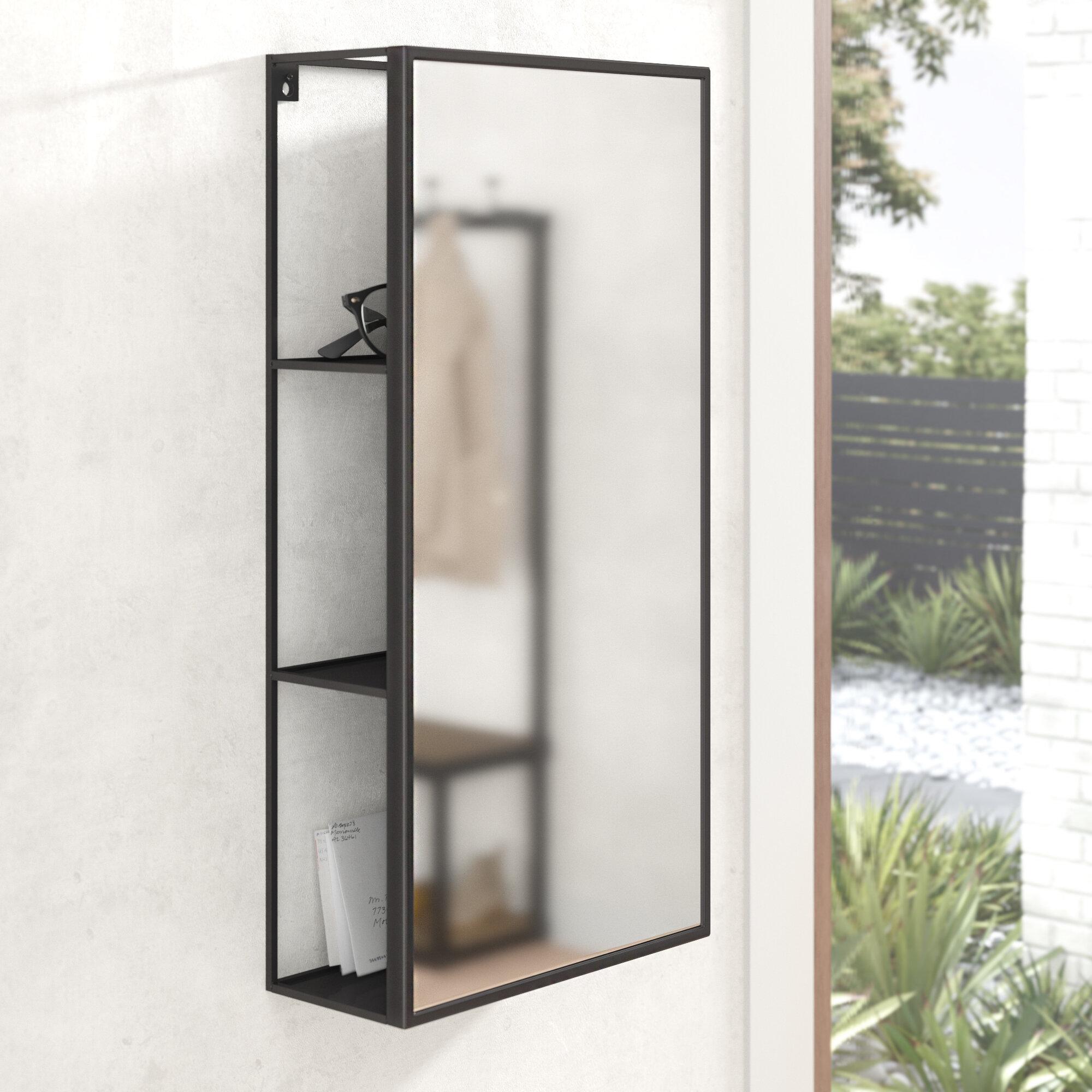 Cubiko Modern And Contemporary Bathroom Vanity Mirror Reviews Allmodern