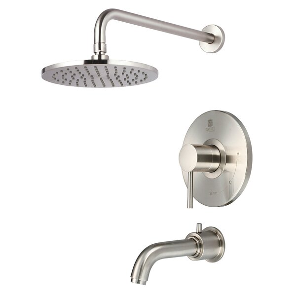 Motegi Single Handle Diverter Tub and Shower Faucet with Trim by Pioneer