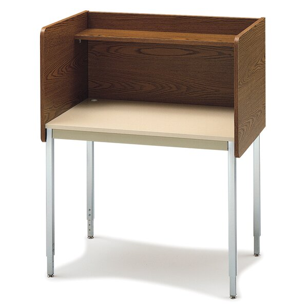 Laminate 46.25 Study Carrel by Smith Carrel