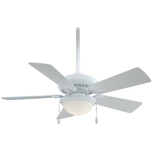 Order 44 Supra 5 Blade LED Ceiling Fan By Minka Aire
