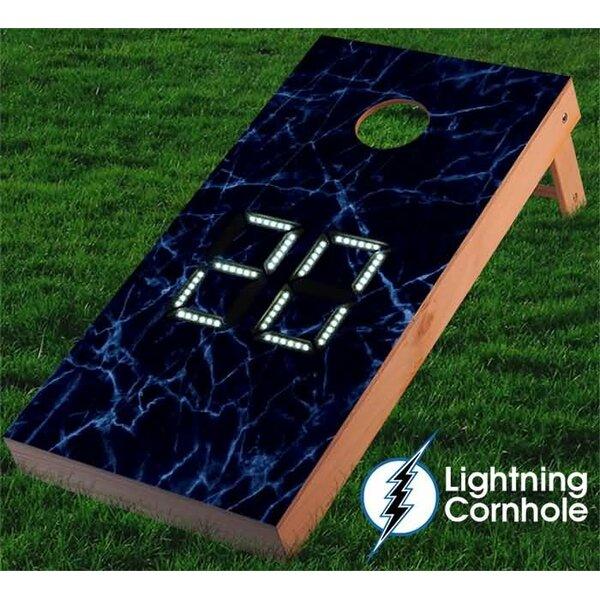 Electronic Scoring Cornhole Board by Lightning Cornhole