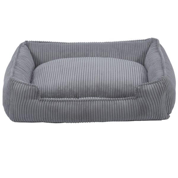 Corduroy Lounge Bolster Dog Bed by Jax & Bones