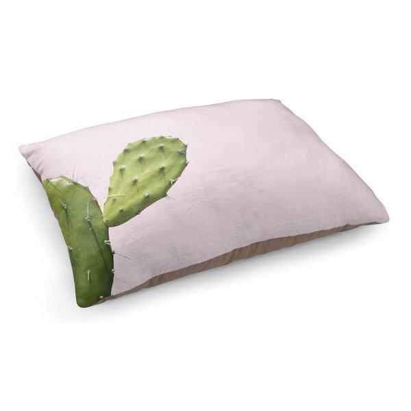 Southwest Cactus Closeup Pet Bed Pillow by KAVKA DESIGNS