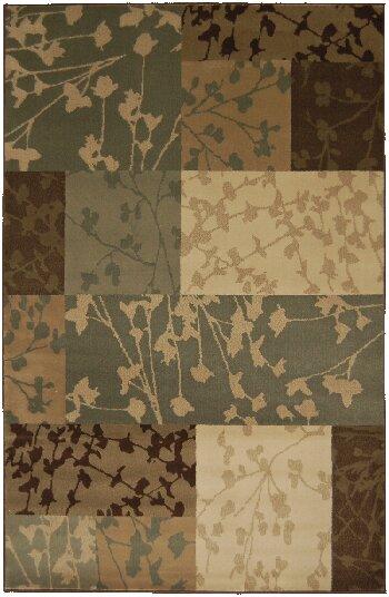 Lemus Hand-Tufted Beige/Brown/Green Area Rug by Red Barrel Studio