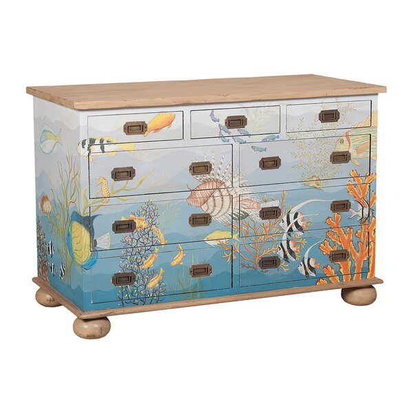 Ingleside 9 Drawer Accent Chest by Rosecliff Heights