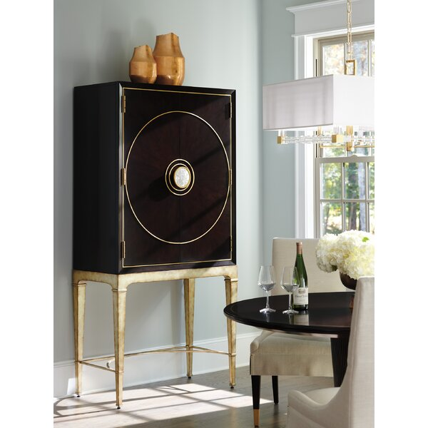 Carlyle Meridian Bar Cabinet by Lexington Lexington