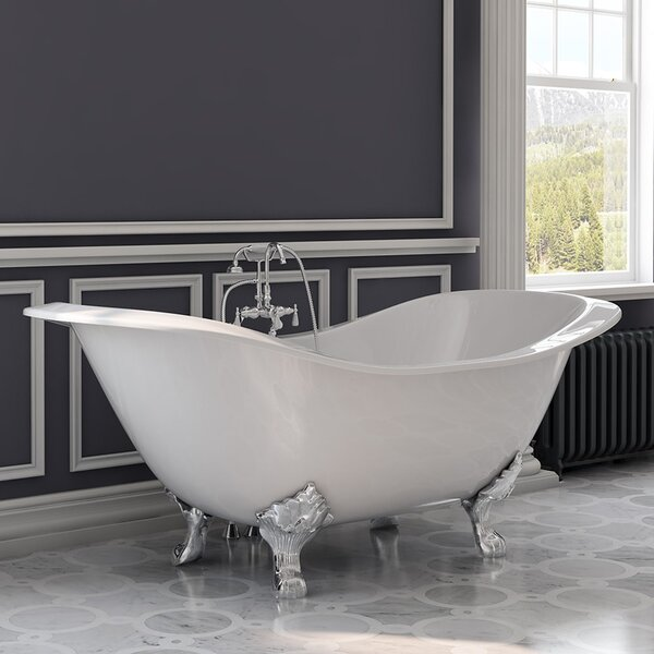 71 x 30 Clawfoot Bathtub by Cambridge Plumbing