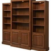Kamran Display 3 Piece Bookcase Set by A&E Wood Designs