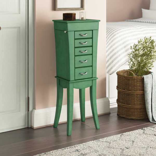 Kenia Jewelry Armoire By Ophelia & Co.