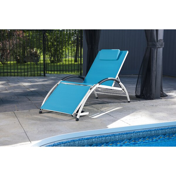 Dockside Sun Lounge Chair by Vivere Hammocks