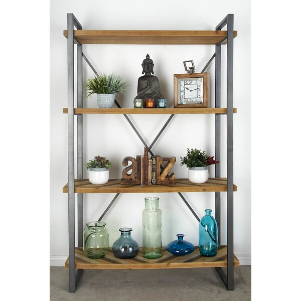 Bella Industrial Etagere Bookcase by Foundry Select Foundry Select