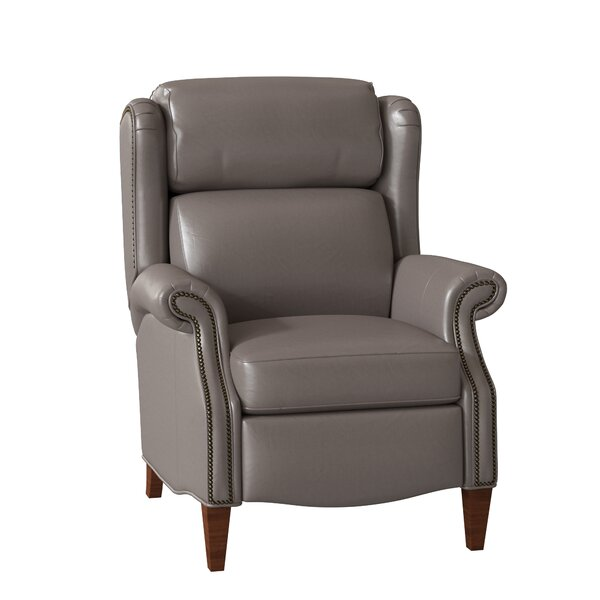 Miller Leather Recliner By Bradington-Young