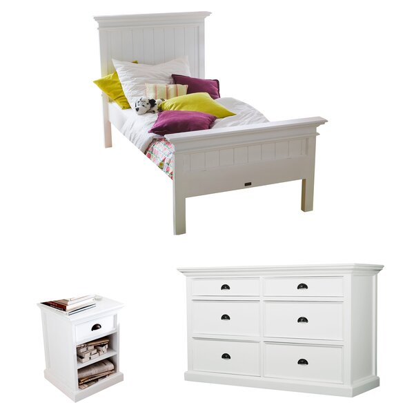 Amityville Platform Configurable Bedroom Set by Beachcrest Home