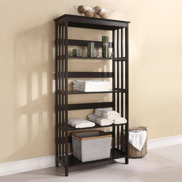 Wooden 60 H x 12 W Shelf Rack by Benzara