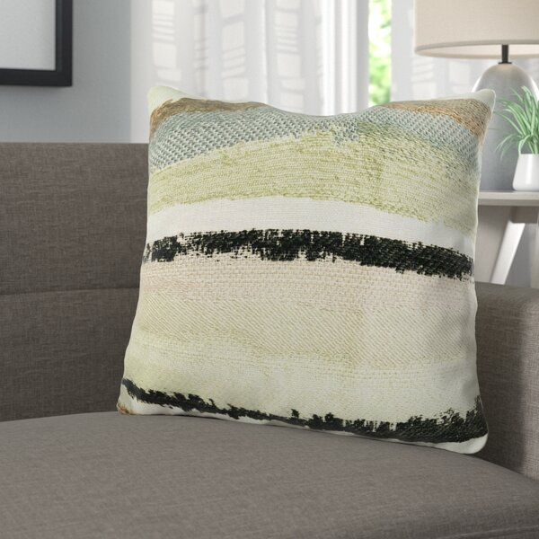 Deshields Stone River Sand Luxury Pillow by Corrigan Studio