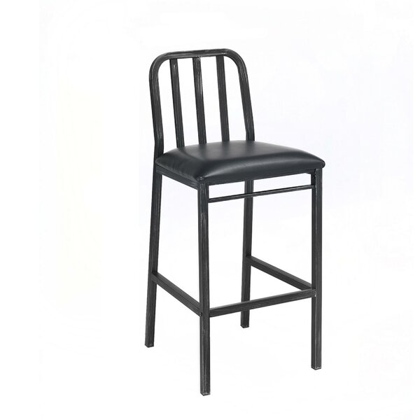 Reynaldo Metal Bar Stool (Set of 2) by Latitude Run Latitude Run