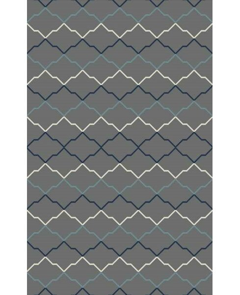 Bolding Hand-Tufted Gray Area Rug by Brayden Studio