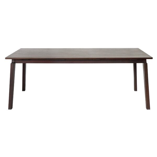 Aviva Solid Wood Patio Table by Bay Isle Home