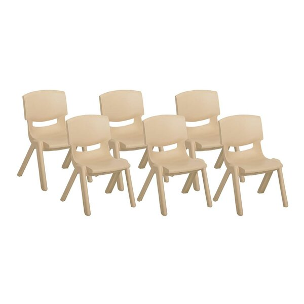 Preschool Plastic Classroom Chair (Set of 6) by Of
