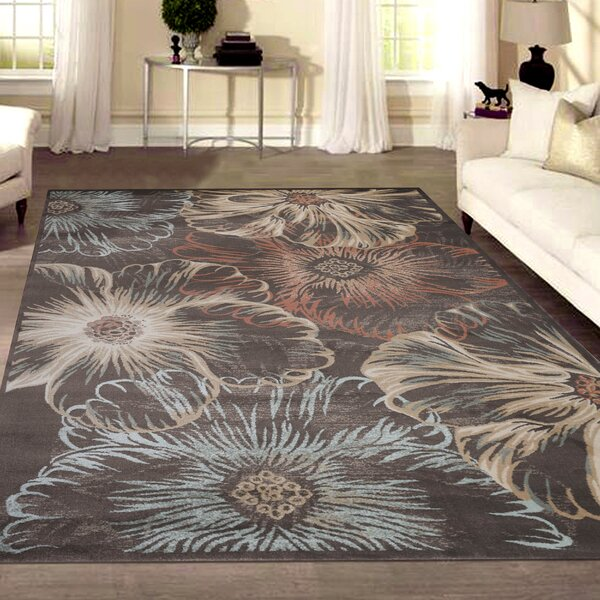 Garda Black/Beige Area Rug by Wildon Home ®