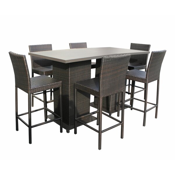 Tegan 8 Piece Bar Height Dining Set By Sol 72 Outdoor by Sol 72 Outdoor 2020 Coupon
