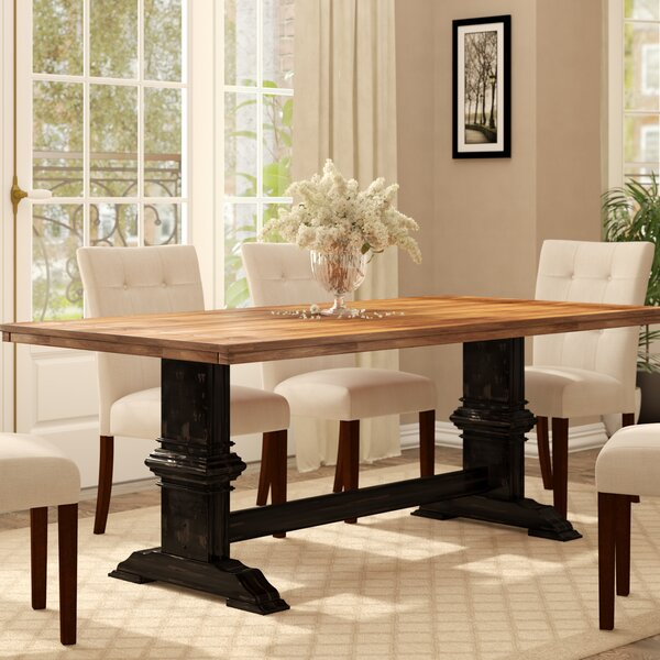 Fortville Dining Table by Three Posts